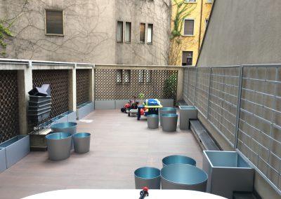 Milano, terrazza privata