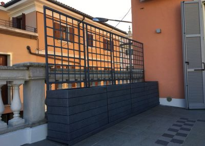 Varese Lombardy, private terrace