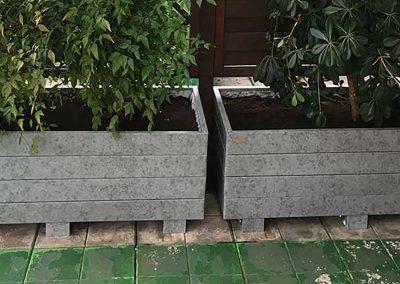 Fioriere in terrazza a Busto Arsizio
